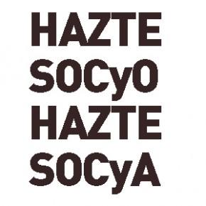 LA ESTÉTICA yA ESTÁ. HAZTE SOCyO, HAZTE SOCyA