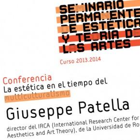 Giuseppe Patella en el Seminario Permanente de Estética de Sevilla