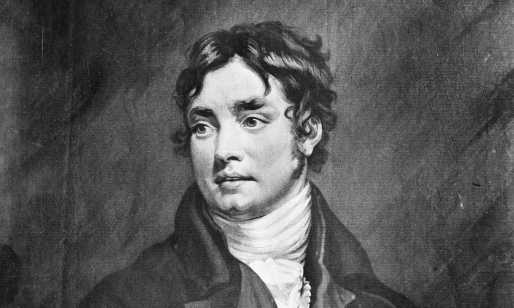 Samuel Taylor Coleridge in 1802, the year his daughter, Sara, was born.