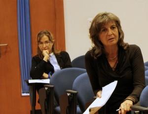 María Jesús Godoy y Linda Goehr