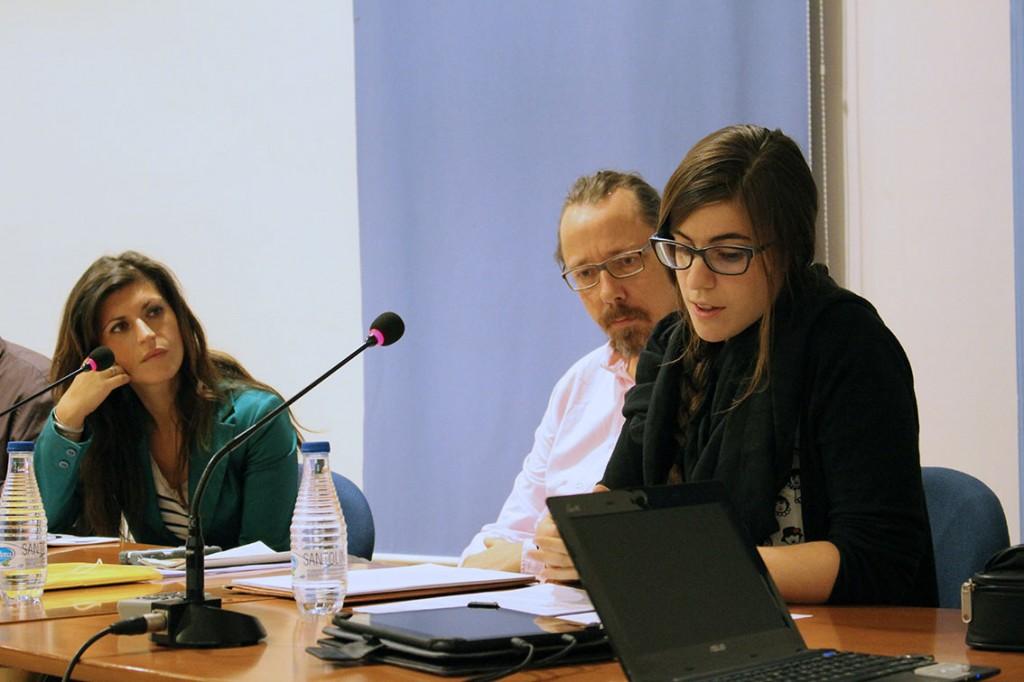 Teresa Lousa, Oliver Tolle y Marina Hervas