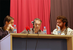 Mercedes López, José Antonio Barrera y Juan Diego Martín Cabeza