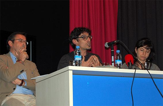 Antonio Tienda, Miguel A. Rivero y Elena Romero