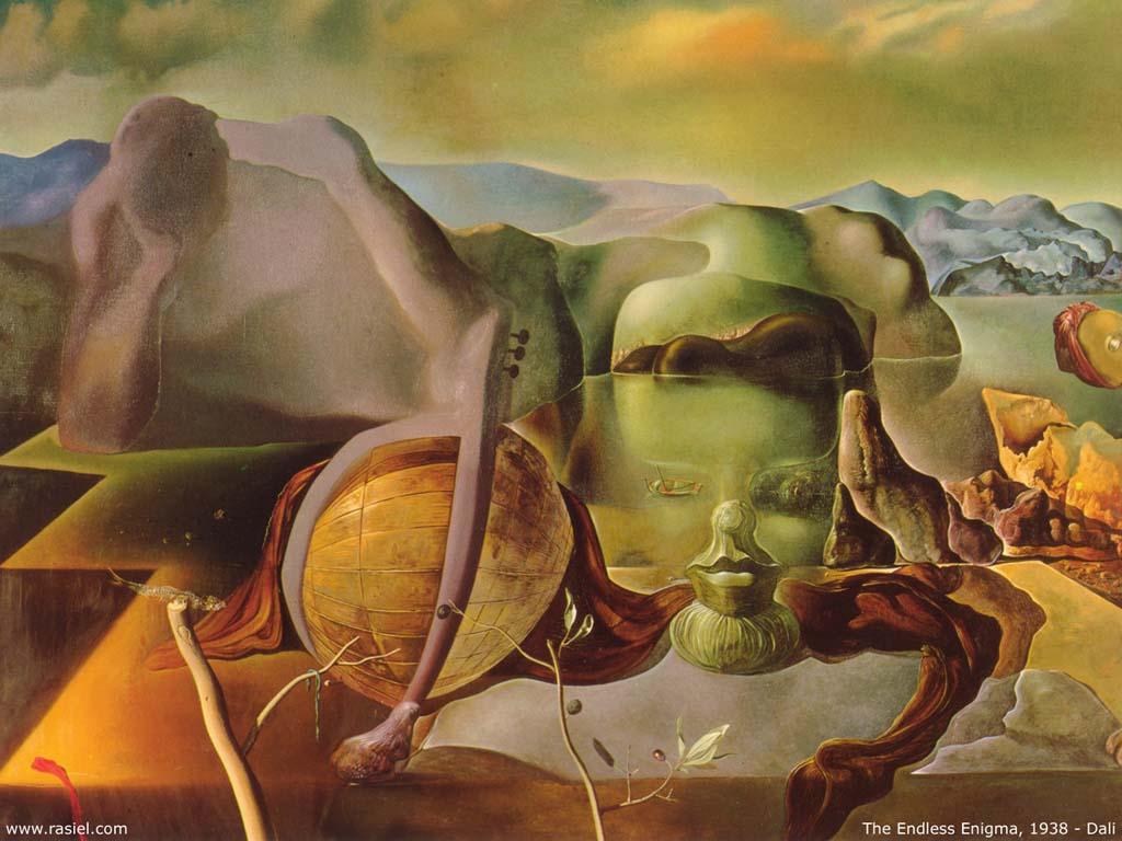 Salvador Dalí, El enigma sin fin, 1938