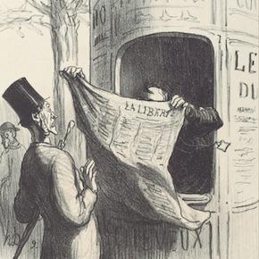 'Honoré Daumier. La risa republicana', de Luis Puelles