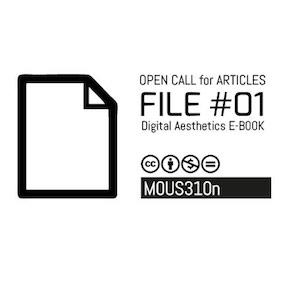 FILE#01, estética digital