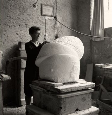 Louise Bourgeois studio 464
