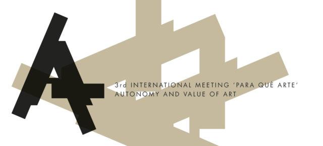 III Encuentro Internacional 'Para qué arte'