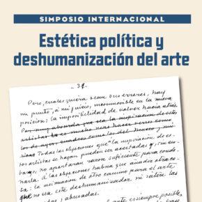 Estética política y deshumanización del arte