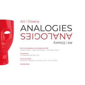 Exposición 'Analogies. Art i Disseny'