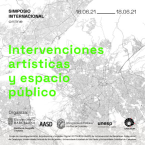 Simposio Internacional 'Intervenciones artísticas y espacio público'